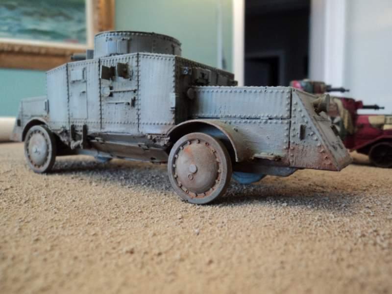 Büssing A5P Heavy Armoured Car 1:56 (28mm)