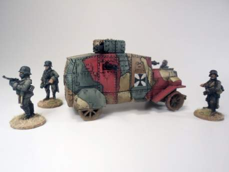 Ehrhardt E-V/4 Armoured Car 1:56 (28mm)