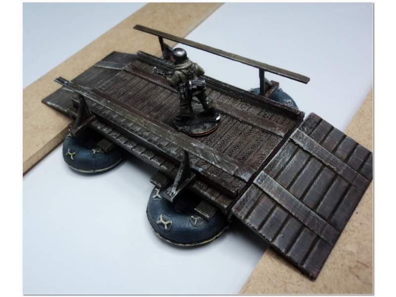 Second World War German Flossacke 34 Assault Pontoon