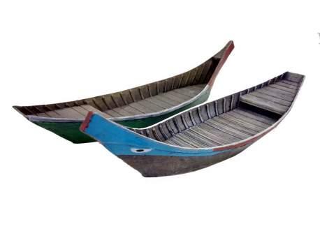 Vietnam Five-Planks Houseboat 1:56 (28mm)