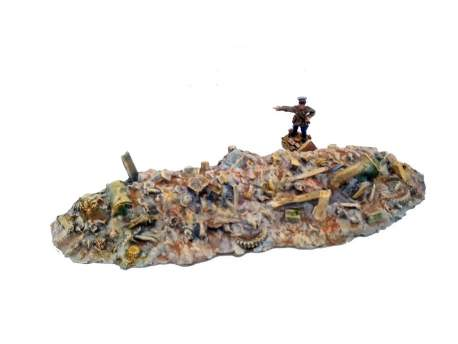 Rubble (urban) 1:56, (28mm)