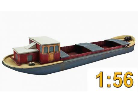 Dutch barge 1:56 (28mm)