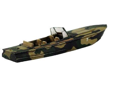 WWI PG-117 Soviet Assault Boat 1:56 (28mm)