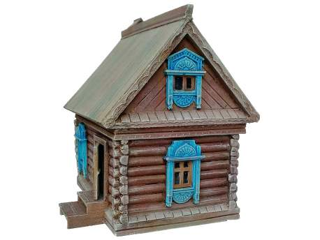 Russian traditional house 1:56 (28mm)