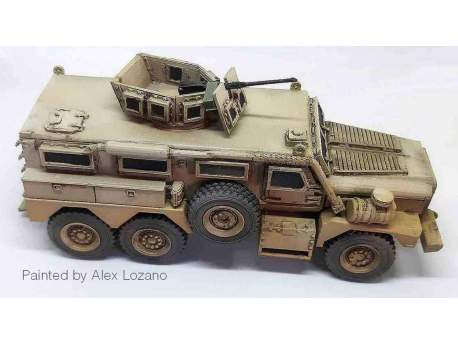 US Cougar 6x6 MRAP Vehicle 28mm, 1:56 scale