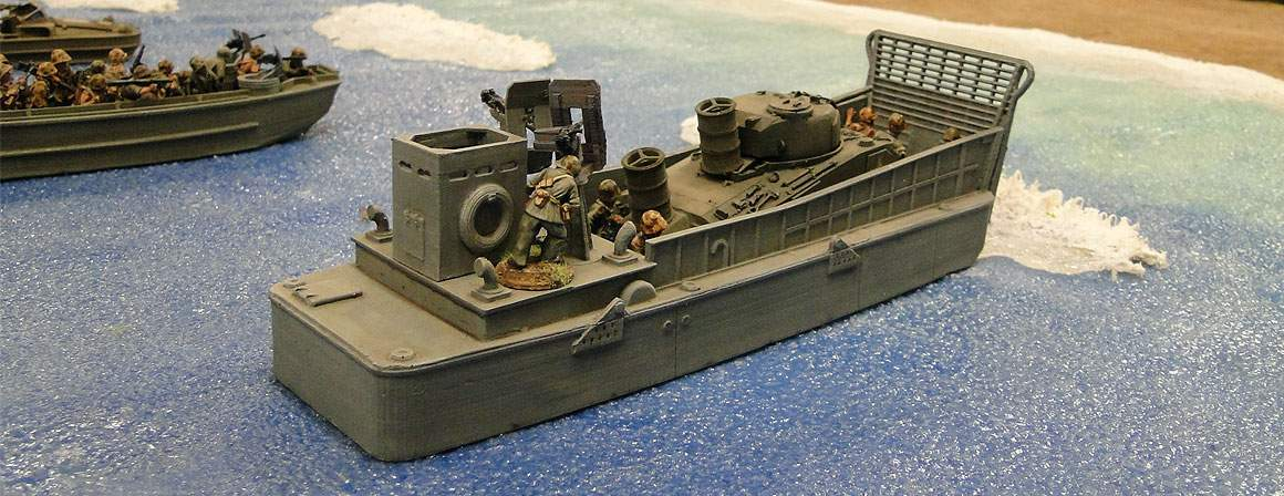 LCM3 Higgins US landing Craft Mechanized 1:56 (28mm)